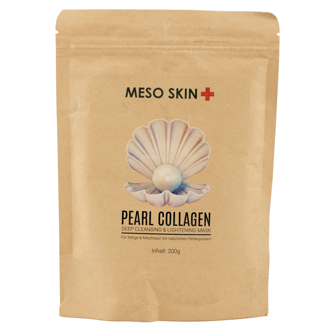 Pearl Collagen Deep Cleansing & Lightening Alginatmaske 200g