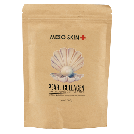 Pearl Collagen Deep Cleansing & Lightening Alginat Maske - Kopie