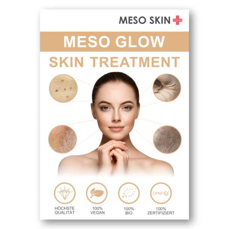 Meso Glow Skin Poster A2 (Variante 2)